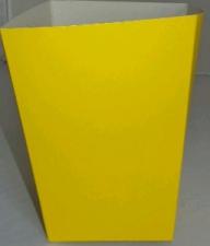 POPCORN BOX SMALL YELLOW