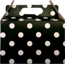 PARTY BOX POLKA BLACK