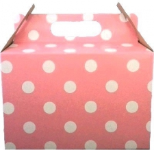 PARTY BOX POLKA LIGHT PINK