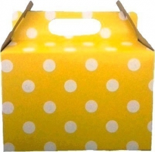 PARTY BOX POLKA YELLOW