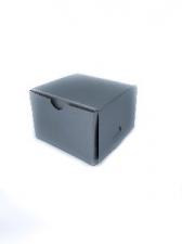 GIFT BOX SQ 7CM SILVER 8s