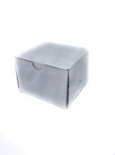 GIFT BOX SQ 7CM WHITE 8s