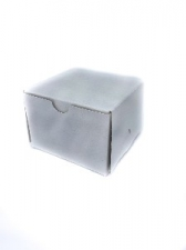 GIFT BOX SQUARE 7CM WHITE 8s