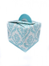 GIFT BOX DAMASK WITH HANDLE TEEL 8s