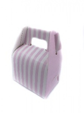 GIFT BOX MINI WITH HANDLE LIGHT PINK 8s