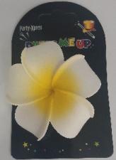HULA FLOWER HAIRCLIP FRANGIPANI
