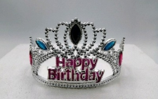 TIARA HAPPY BIRTHDAY PRINTED