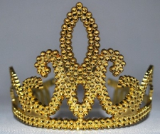 TIARA CROWN GOLD