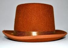 HAT TOP HAT FELT BROWN