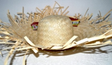 HAT HULA REED NATURAL