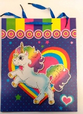 GIFT BAG UNICORN LRG 40 X 30 CM