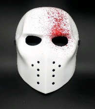 MASK BLOOD SPLATTER