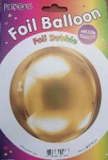 BALLOON 24 INCH 4D METALLIC GOLD