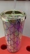 PLASTIC DRINKING CUP MERMAID SHELL