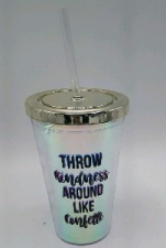 PLASTIC DRINKING CUP KINDNESS