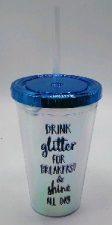 PLASTIC DRINKING CUP SHINE