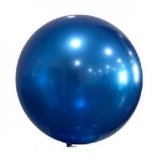 BOBO BALLOON 24 INCH SOLID BLUE 10S