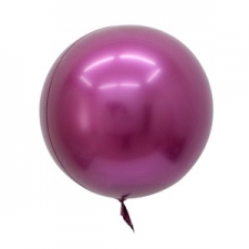 BOBO BALLOON 24 INCH SOLID PINK 10S