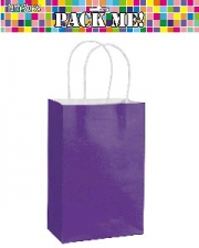 PARTY BAGS PURPLE 8s