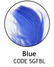 BALLOON FEATHERS BLUE