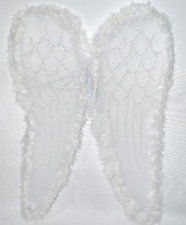 WINGS ANGEL 58CM WHITE