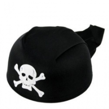 HAT PIRATE WITH BLACK BAND