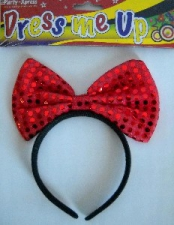 HEADPIECE MINNIE SEQUENCE RED