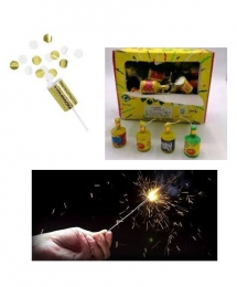 SPARKLERS & PARTY POPPERS