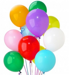 12 INCH BALLOONS 10'S