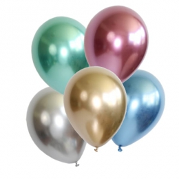 LATEX METALLIC BALLOONS