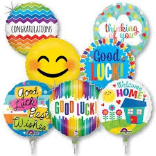 FOIL BALLOONS FOR ALL OCCASIONS