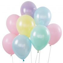 LATEX PASTEL BALLOONS
