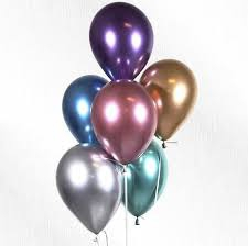 LATEX CHROME BALLOONS