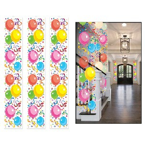 PARTY PANELS BALLOONS 3S 12INCHX6FOOT