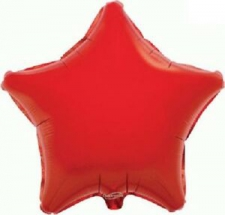 19 INCH FOIL STAR BALLOON RED