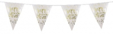 BUNTING FOIL 4M 10 FLAGS NEW YEAR