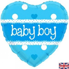 18 INCH FOIL BABY BOY