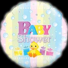 18 INCH FOIL BABY SHOWER
