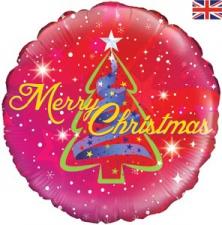 18 INCH FOIL CHRISTMAS BALLOON TREE DESIGN