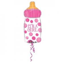 SUPERSHAPE BABY BOTTLE BALLOON JUNIOR GIRL