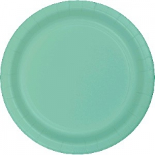 SOLID COLOUR FRESH MINT PLATES 9 INCH