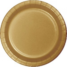 SOLID COLOUR GOLD PLATES 9