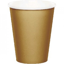 SOLID COLOUR GOLD CUPS