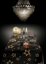 VIP TABLECLOTH WITH STARS