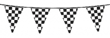 BLACK AND WHITE BUNTING 6m