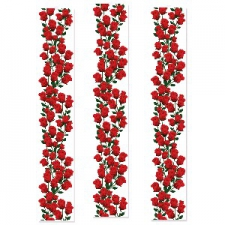 PARTY PANEL ROSES 3S