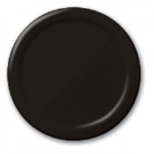 SOLID COLOUR BLACK VELVET PLATES 9