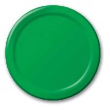 SOLID COLOUR EMERALD GREEN PLATES