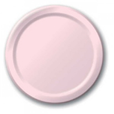 SOLID COLOUR CLASSIC PINK PLATES 9