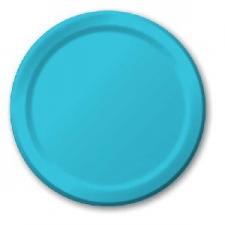 SOLID COLOUR BERMUDA BLUE PLATES 9